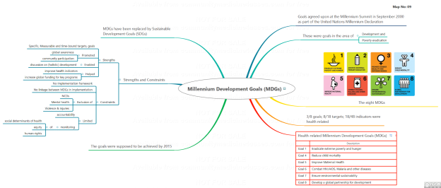 Map9. Millennium Development Goals (MDGs)