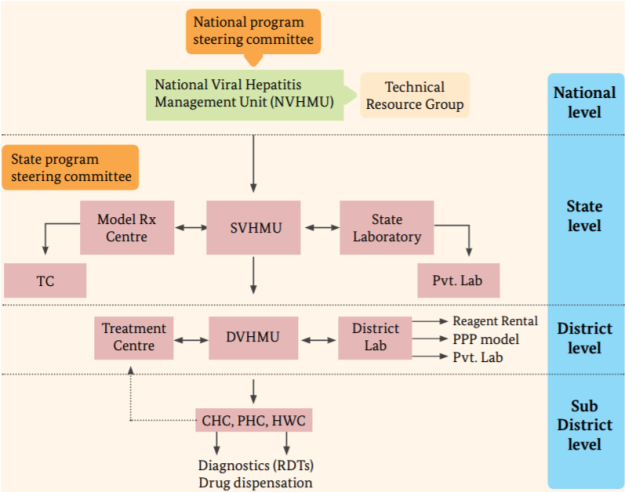 National Viral Hepatitis Control Program Organogram