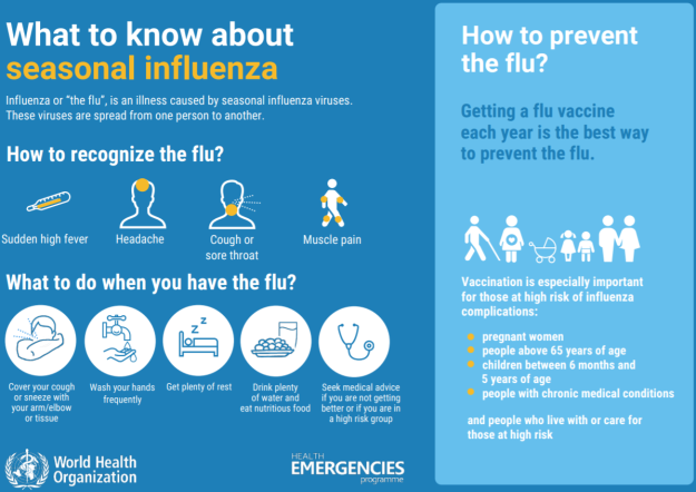 WHO Seasonal Influenza