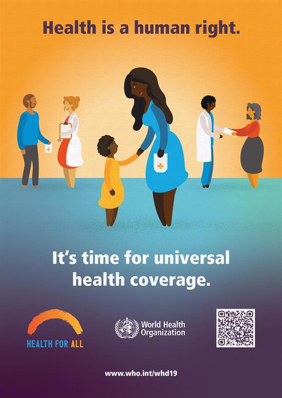 world health day 2019 7 april universal health coverage