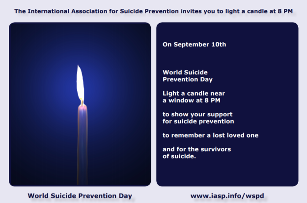 2019-09-08 17_47_31-Light a Candle Near a Window at 8PM on World Suicide Prevention Day Postcard - O